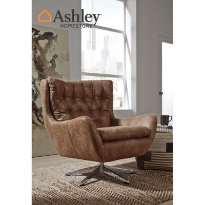 Ashley Πολυθρόνα Περιστρεφόμενη Velburg A3000052