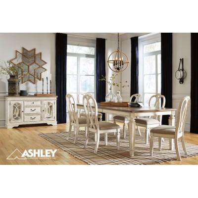 Ashley Τραπεζαρία Country σετ 7τεμ D743-45 Έπιπλα σαλονιού Είδη Σπιτιού - saroglouhome.gr