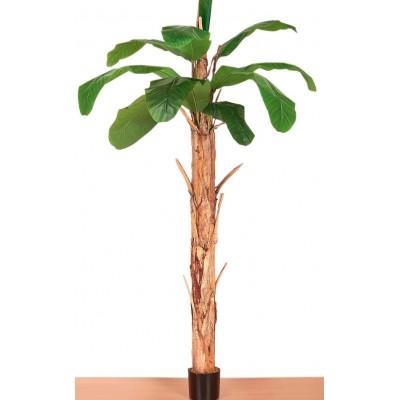 Διακοσμητικά Φυτά - Τεχνητό Φυτό Μπανανιά 2,20εκ. Φυτά Είδη Σπιτιού - saroglouhome.gr