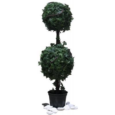 Διακοσμητικά Φυτά - Rosa Alba Δέντρο Μπάλα Διπλή 93εκ. Φυτά Είδη Σπιτιού - saroglouhome.gr