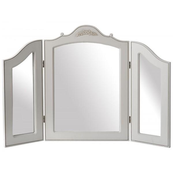 Είδη Διακόσμησης - Καθρέπτης Γκρι Ξύλινος 84x60 Καθρέπτες Είδη Σπιτιού - saroglouhome.gr