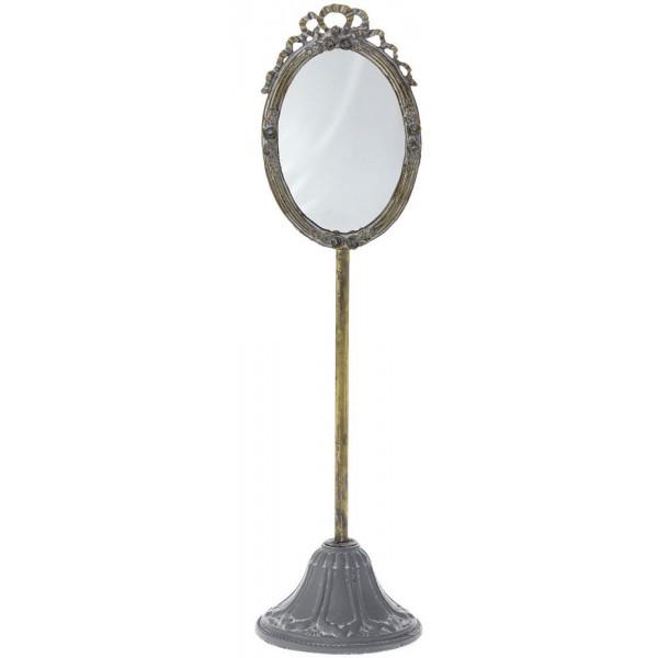 Είδη Διακόσμησης - Καθρέπτης Επιτραπέζιος 13x49εκ. 63957  Καθρέπτες Είδη Σπιτιού - saroglouhome.gr