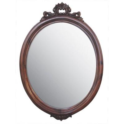 Είδη Διακόσμησης - Καθρέπτης Οβάλ Ξύλινος Σκαλιστός  IFF Ella_S Καθρέπτες Είδη Σπιτιού - saroglouhome.gr