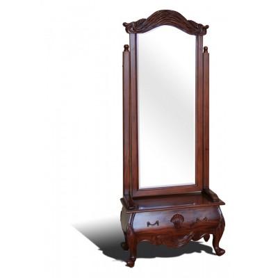 Είδη Διακόσμησης - Καθρέπτης Δαπέδου Τύπου Louis Quinze IFF107/4 Καθρέπτες Είδη Σπιτιού - saroglouhome.gr