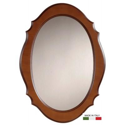 Είδη Διακόσμησης - Καθρέπτης Οβάλ Ξύλινος Ιταλίας IT1080Z Καθρέπτες Είδη Σπιτιού - saroglouhome.gr