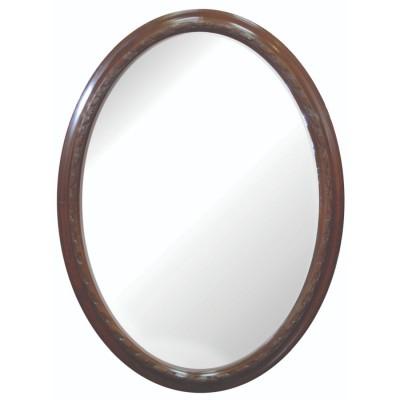 Είδη Διακόσμησης - Καθρέπτης Οβάλ Ξύλινος Vintage GH36320 Καθρέπτες Είδη Σπιτιού - saroglouhome.gr