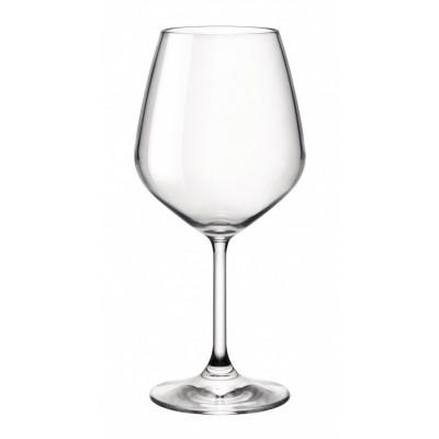 Bormioli Rocco Ποτήρι Κολωνάτο Κρασιού σετ 6τεμ 530ml Divino Ποτήρια Είδη Σπιτιού - saroglouhome.gr