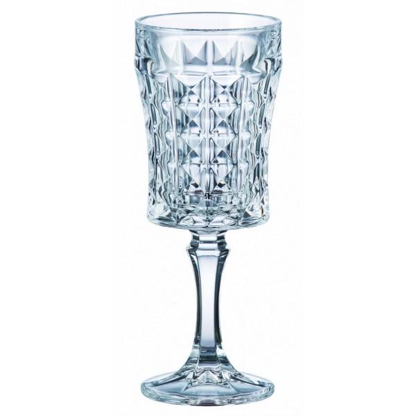 Crystal Bohemia Ποτήρι Κολωνάτο 200ml Diamond Ποτήρια Είδη Σπιτιού - saroglouhome.gr