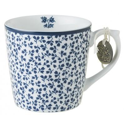 Laura Ashley Blueprint Κούπα Μικρή Floris 22cl Κούπες Είδη Σπιτιού - saroglouhome.gr