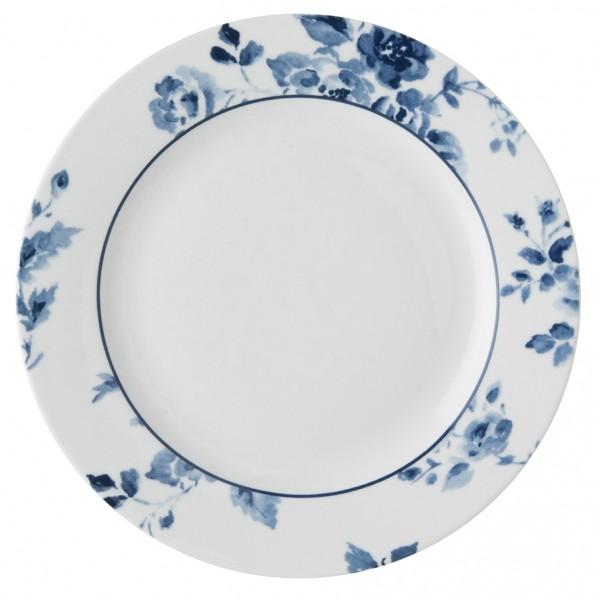 Laura Ashley Blueprint Πιάτο ρηχό China Rose 18'' Σερβίτσια φαγητού Είδη Σπιτιού - saroglouhome.gr