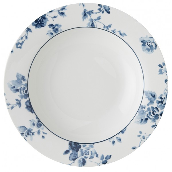 Laura Ashley Blueprint Πιάτο Βαθύ China Rose 22′  Σερβίτσια φαγητού Είδη Σπιτιού - saroglouhome.gr