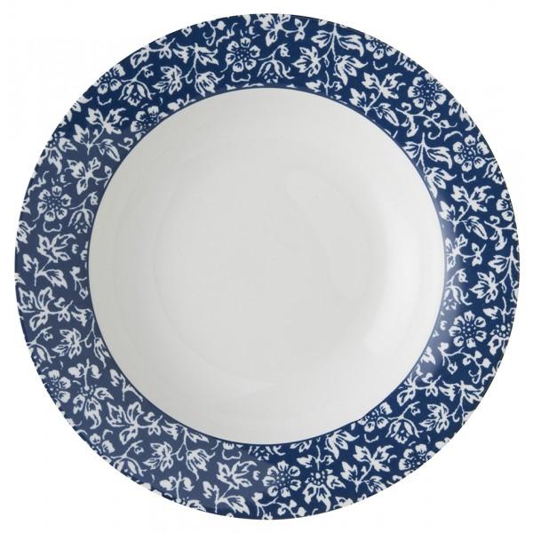 Laura Ashley Blueprint Πιάτο Βαθύ Sweet Allysum 22′  Σερβίτσια φαγητού Είδη Σπιτιού - saroglouhome.gr