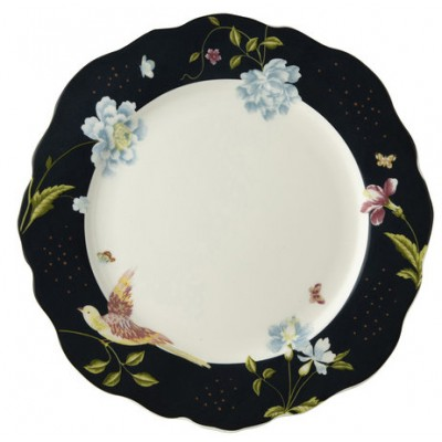 "Laura Ashley Heritage Πιάτο 24,5"" Irregular Midnight Uni Σερβίτσια φαγητού Είδη Σπιτιού - saroglouhome.gr"