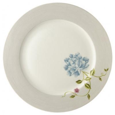 "Laura Ashley Heritage Πιάτο 30"" Cobblestone Pinstripe Uni Σερβίτσια φαγητού Είδη Σπιτιού - saroglouhome.gr"