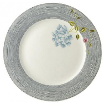 Laura Ashley Heritage Πιάτο 30΄ Midstripe Pinstripe Uni Σερβίτσια φαγητού Είδη Σπιτιού - saroglouhome.gr