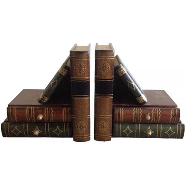 Είδη Διακόσμησης - Βιβλιοστάτης Σετ 2 τεμ. AM-774B Βιβλιοστάτες Είδη Σπιτιού - saroglouhome.gr